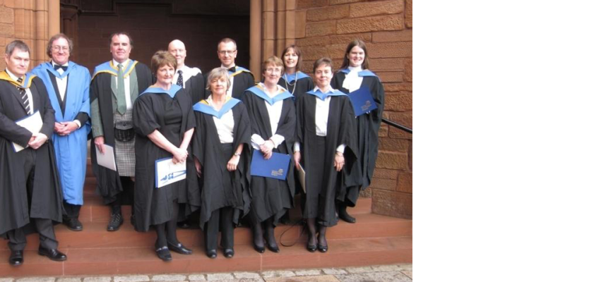 Graduation photo University of Strathclyde 2011