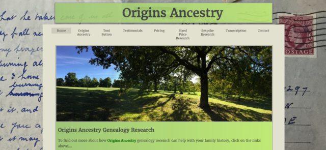Origins Ancestry
