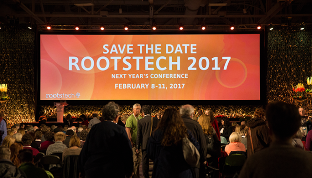 Roots tech 2017