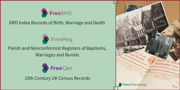 Free UK Genealogy projects