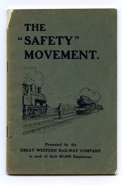 1914 Safety Movement cover