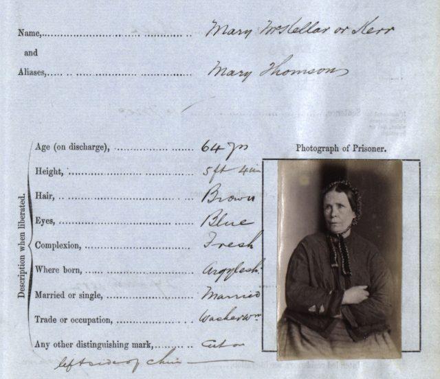A description of Mary McKellar